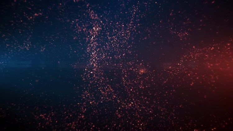 Particle Background: Motion Graphics