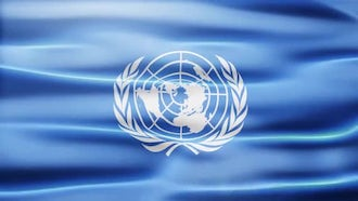 UN Flag: Motion Graphics