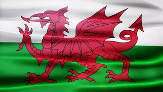Wales Flag: Motion Graphics