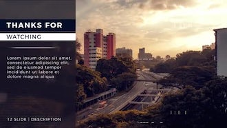 Corporate Cinematic Opener: After Effects Templates