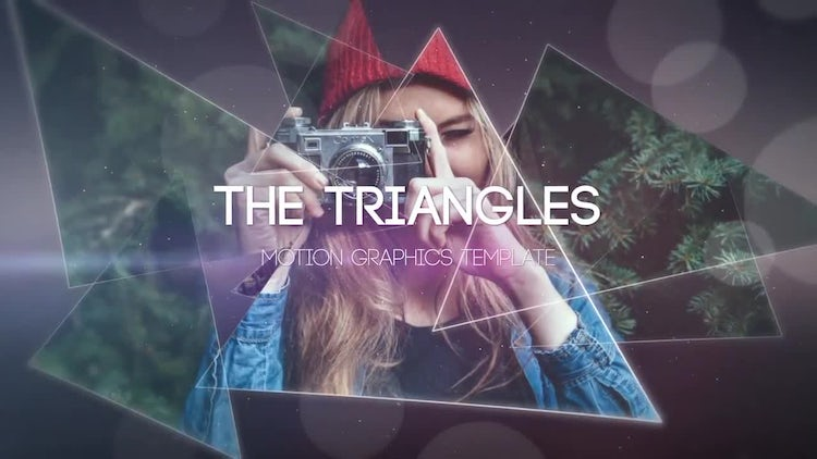 The Triangles: After Effects Templates