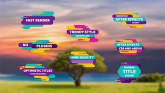 Optimistic Titles: After Effects Templates
