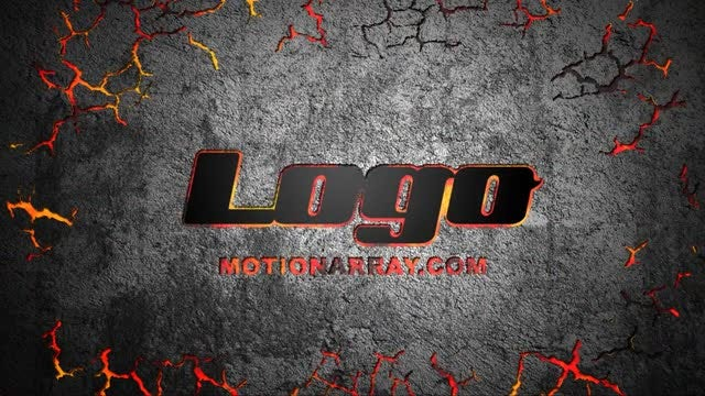 Ground Cracking Logo Reveal: After Effects Templates
