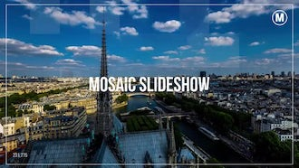 Corporate Mosaic Slideshow: After Effects Templates