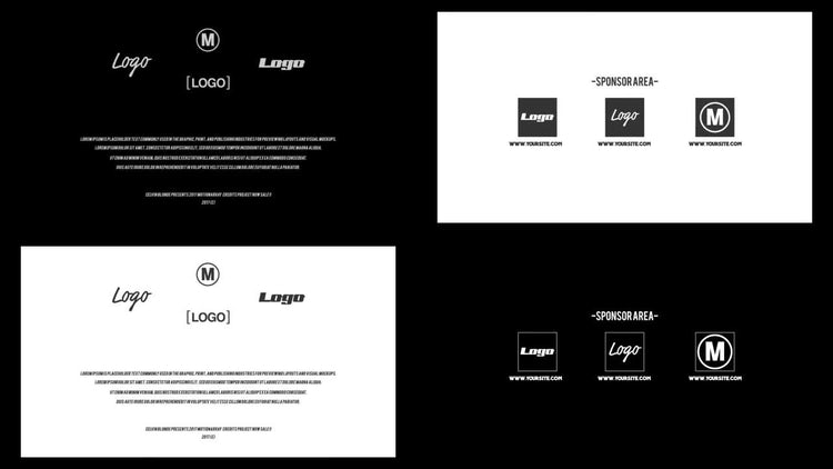 Classical Credits: After Effects Templates