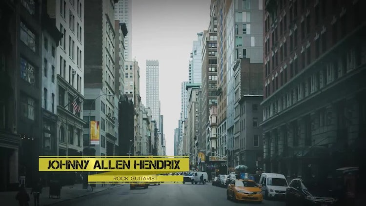Clean Lower Thirds: After Effects Templates