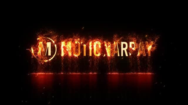 Burning up Logo Opener: After Effects Templates