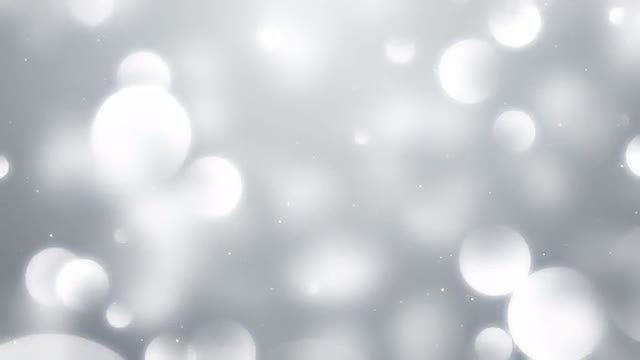 Particles White Background: Stock Motion Graphics