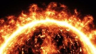 Sun Surface: Motion Graphics