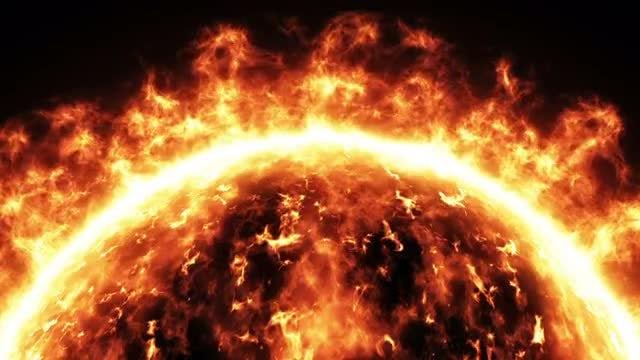 Sun Surface: Stock Motion Graphics