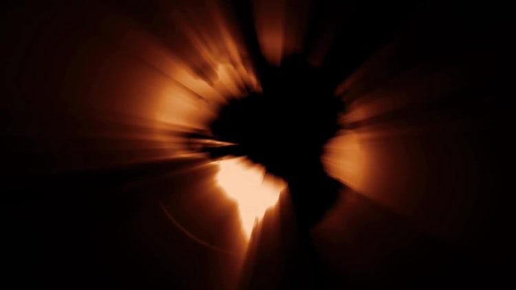 Fiery Globe: Motion Graphics