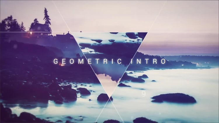 Geometric Intro : After Effects Templates