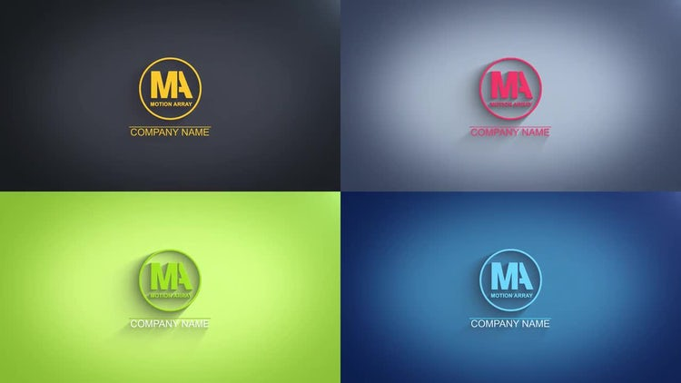 Light style Logo: After Effects Templates