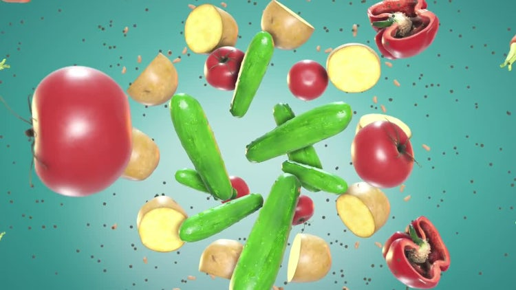 Food In Motion: Motion Graphics