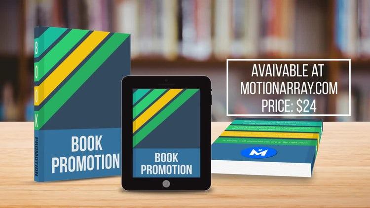book promotion after effects templates motion array. Black Bedroom Furniture Sets. Home Design Ideas