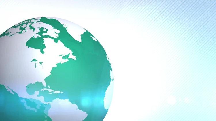 Green Globe: Stock Motion Graphics
