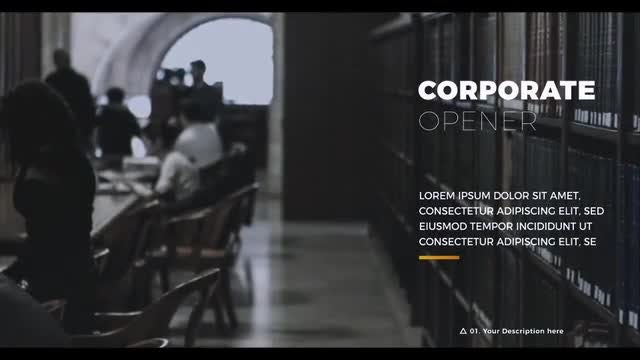 Inspiring Corporate: After Effects Templates