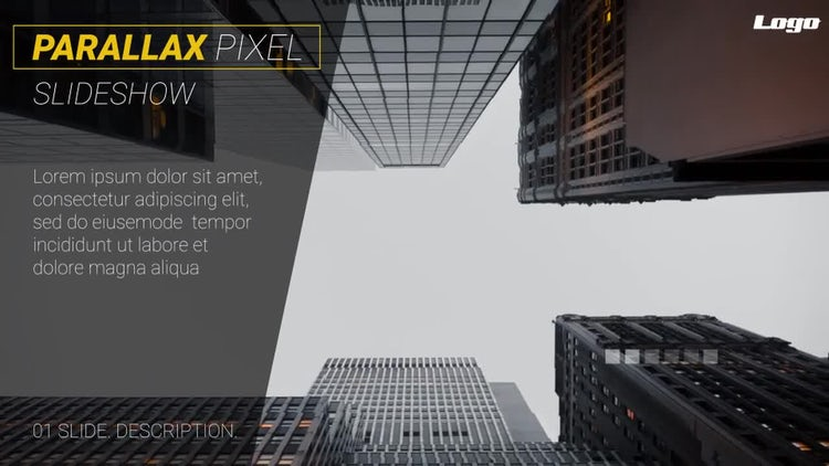 Parallax Presentation: After Effects Templates