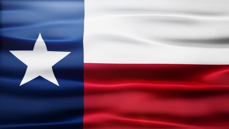 Texas Flag: Motion Graphics