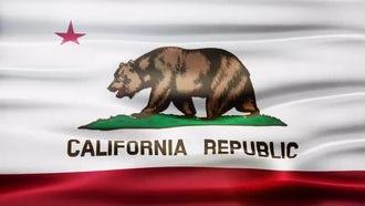 California Flag: Motion Graphics