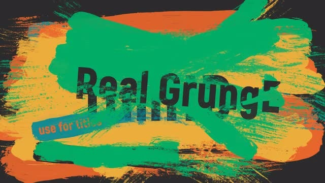 19 Real Brushes: Stock Motion Graphics