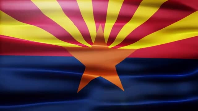 Arizona Flag: Stock Motion Graphics