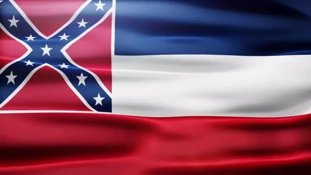 Mississippi Flag: Stock Motion Graphics