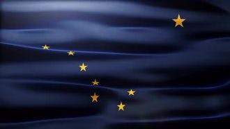 Alaska Flag: Motion Graphics