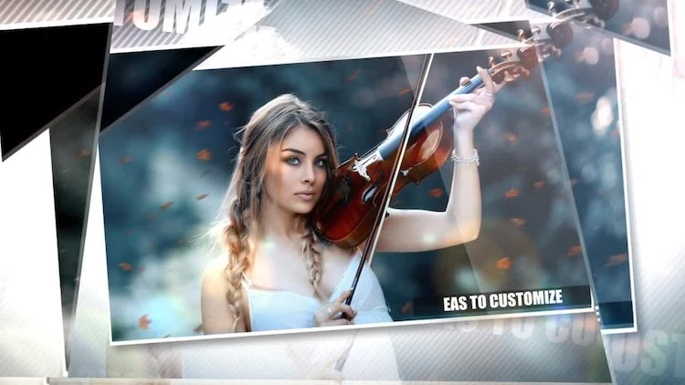 Glass Slideshow: After Effects Templates