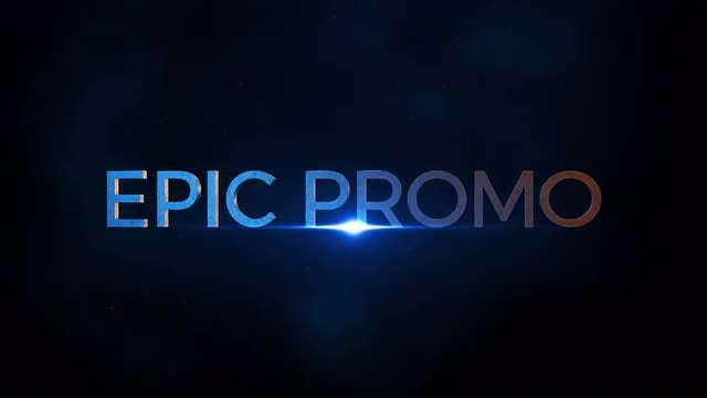 Short Epic Trailer: After Effects Templates