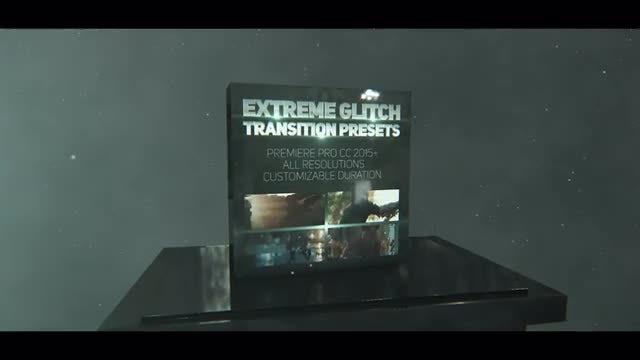 Extreme Glitch Transition Presets: Premiere Pro Presets