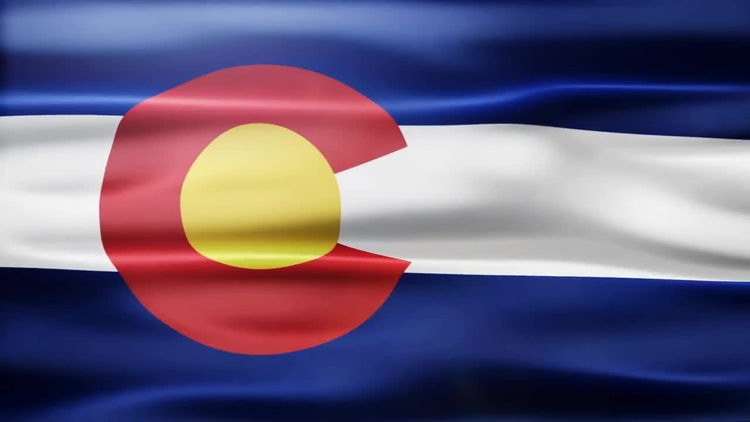 Colorado Flag: Stock Motion Graphics