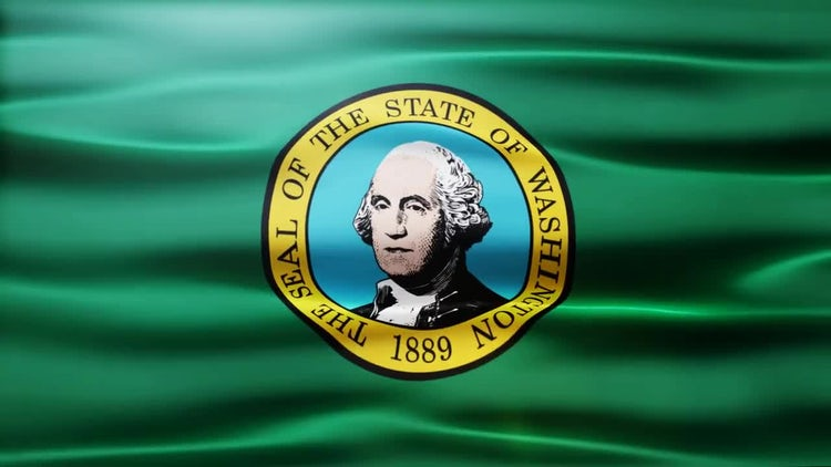 Washington Flag: Motion Graphics