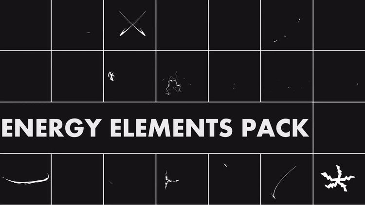 Energy Elements Pack: Stock Motion Graphics