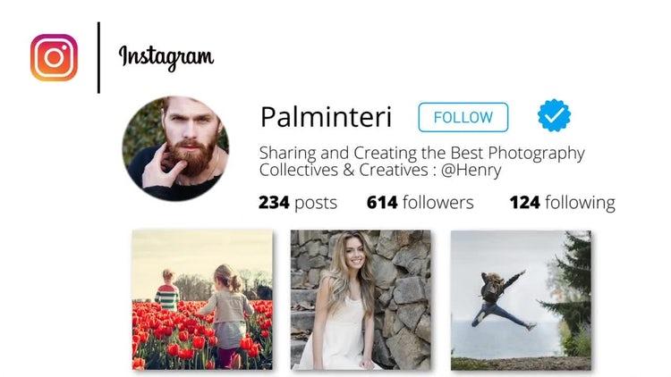 Instagram Promo V1.0: Premiere Pro Templates