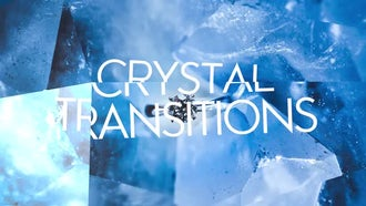 Crystal Transitions: Premiere Pro Templates