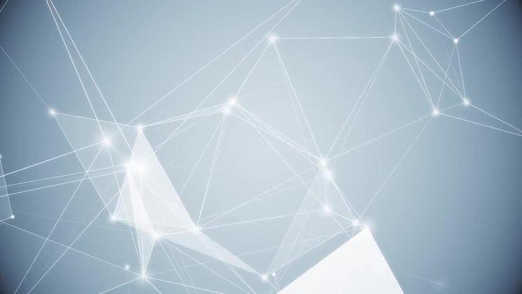 Light Blue Plexus: Motion Graphics