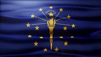 Indiana Flag: Motion Graphics