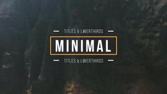 Simple Motion Titles: Premiere Pro Templates