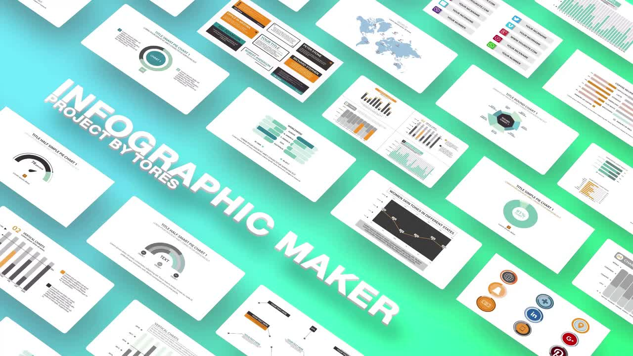 Infographic Maker - After Effects Templates | Motion Array