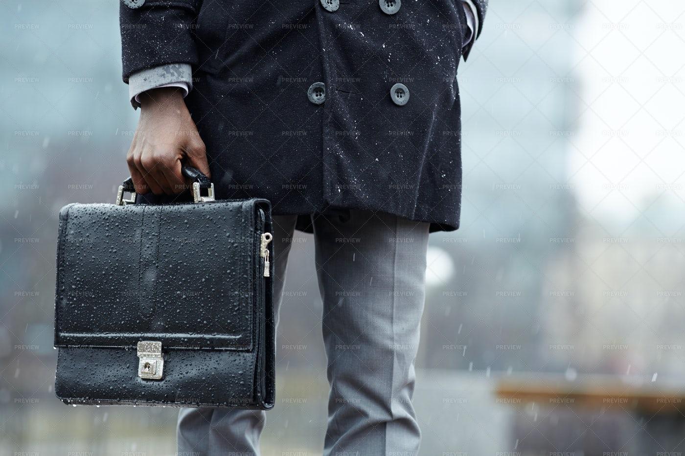 Man With Briefcase: Stock Photos