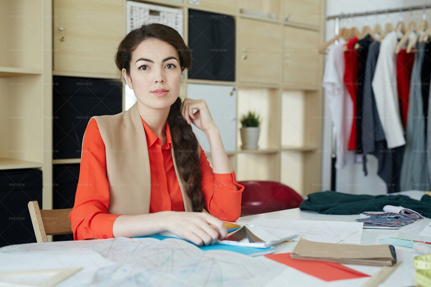 Fashion Designer: Stock Photos