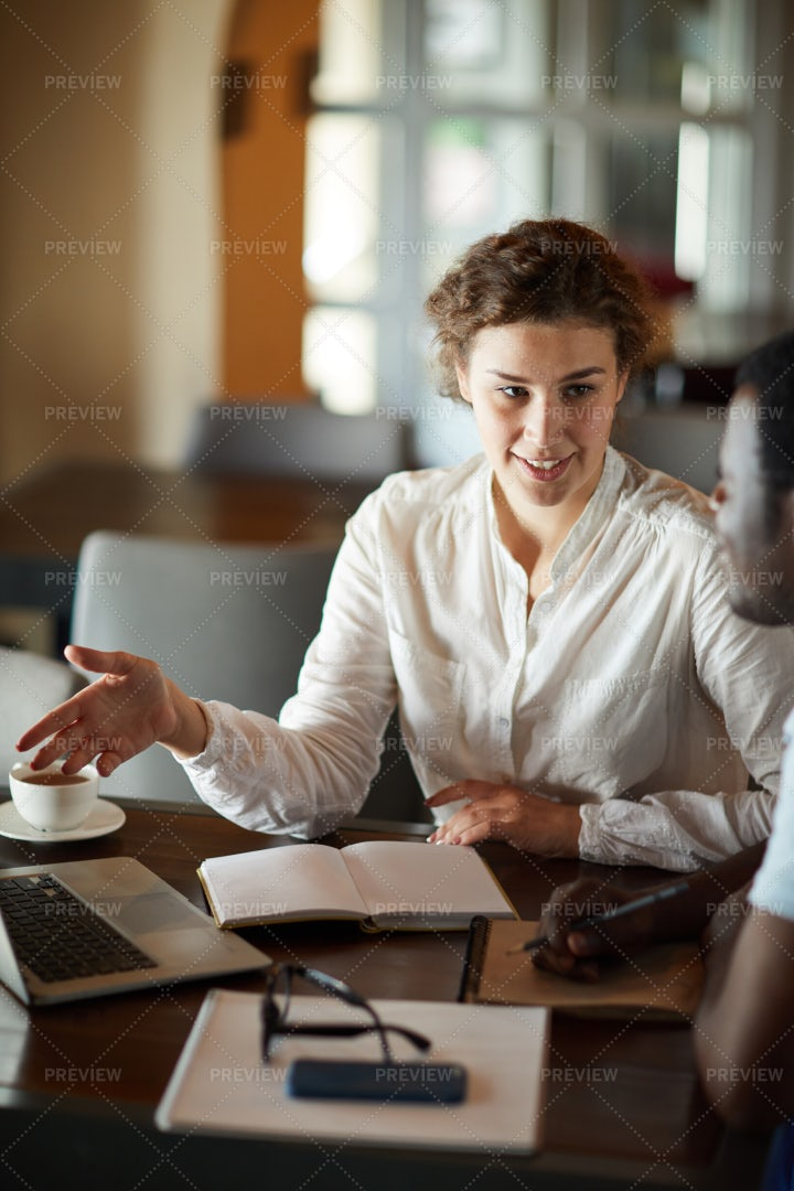 Meeting Of Managers: Stock Photos