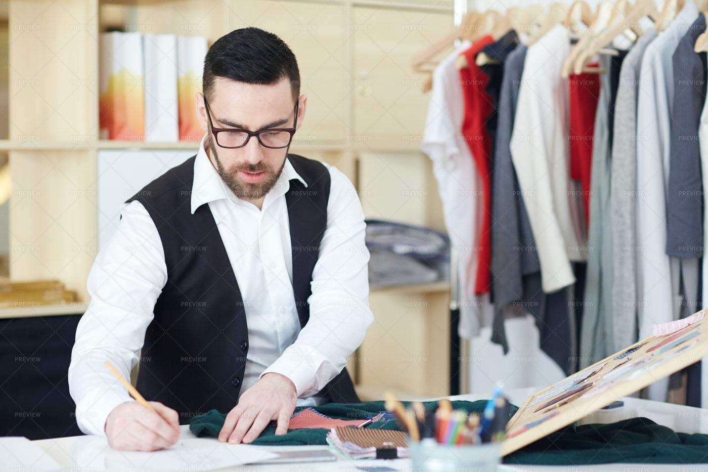 Creation Of New Fashion: Stock Photos