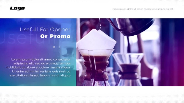 Minimal Modern Opener: After Effects Templates