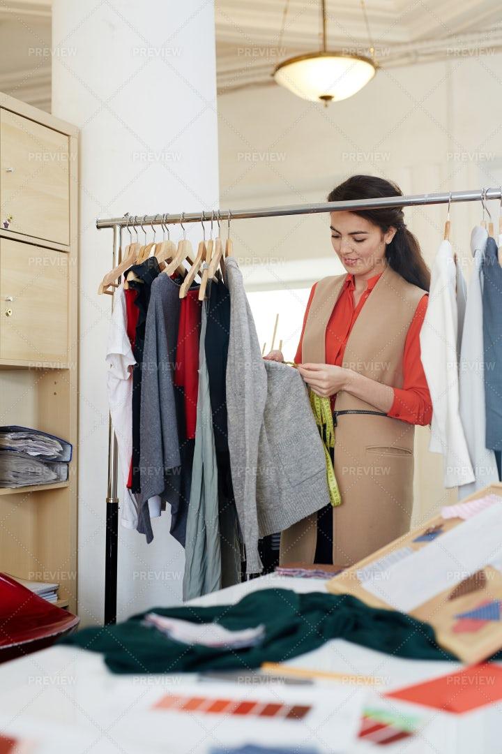 Selecting Clothes: Stock Photos