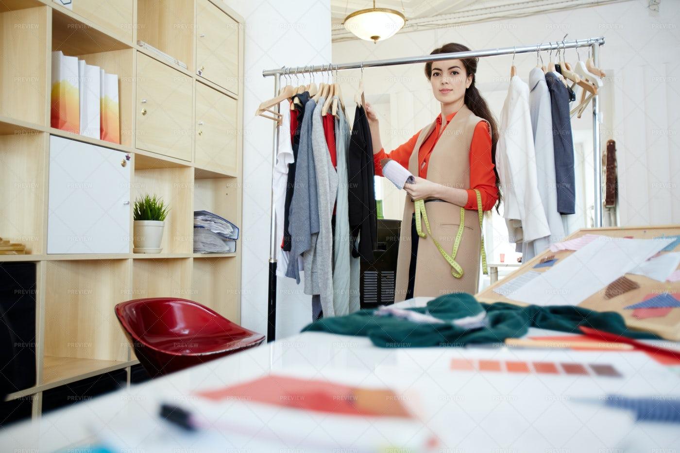 Young Clothier: Stock Photos