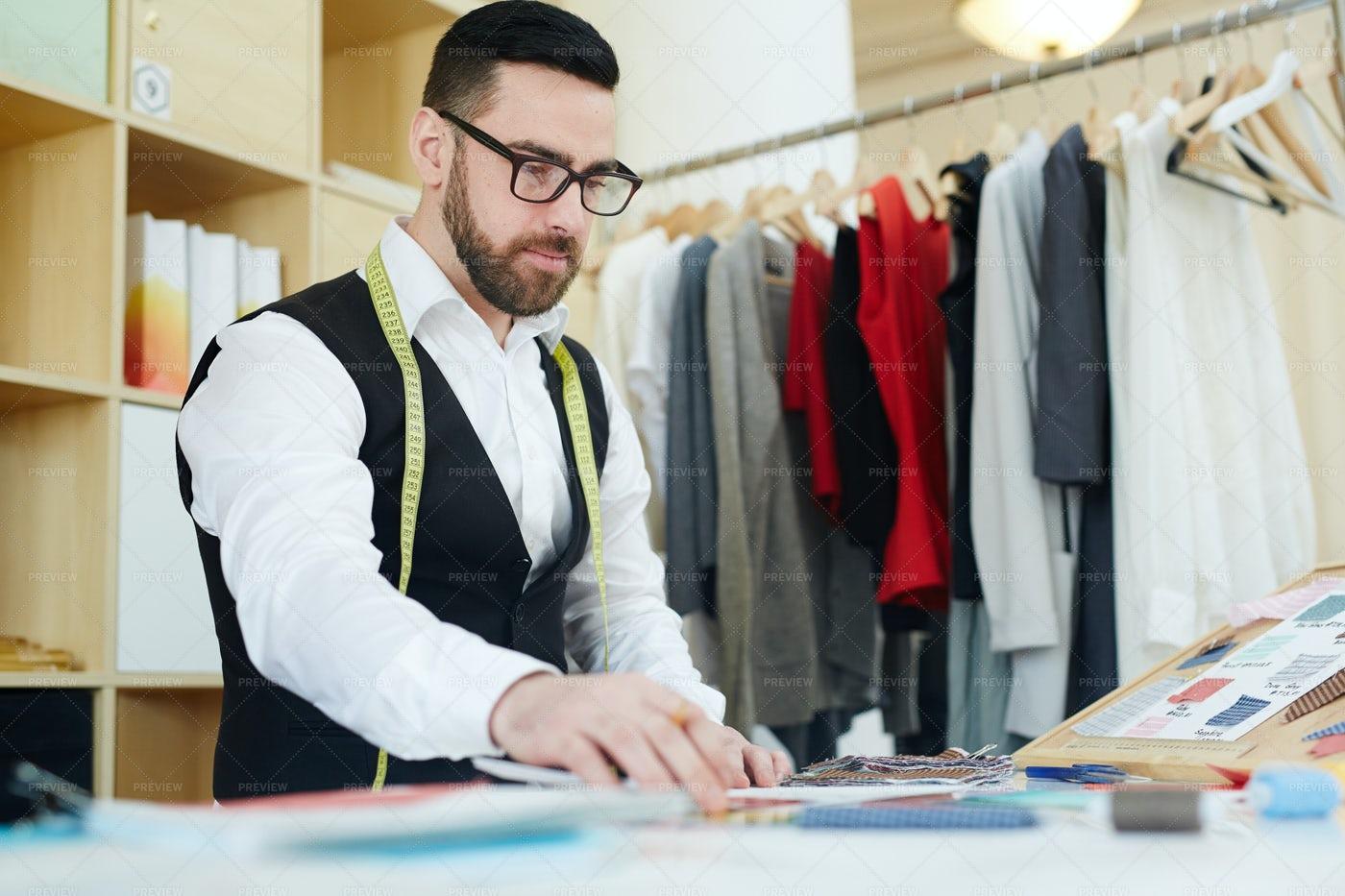 Making Fashion: Stock Photos