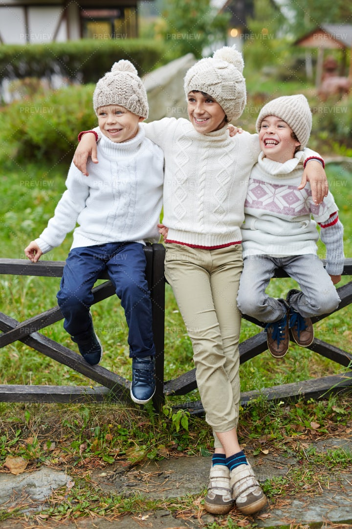 Happy Boys: Stock Photos