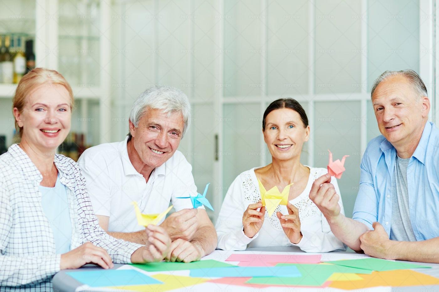 Creative Seniors: Stock Photos